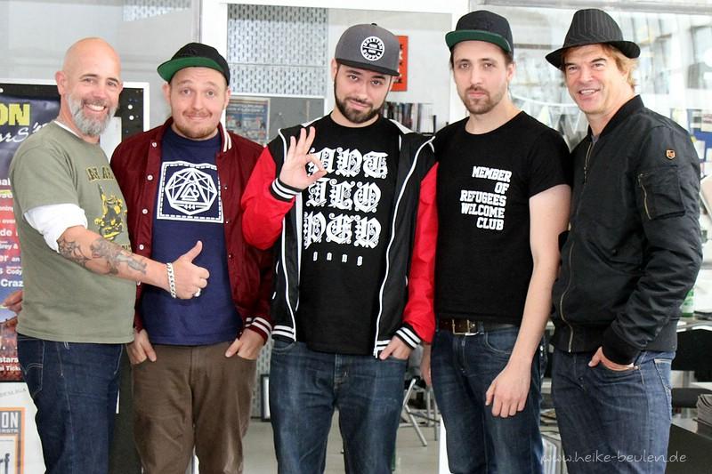 Patrick Orth (JKP), Antilopen Gang & Campino